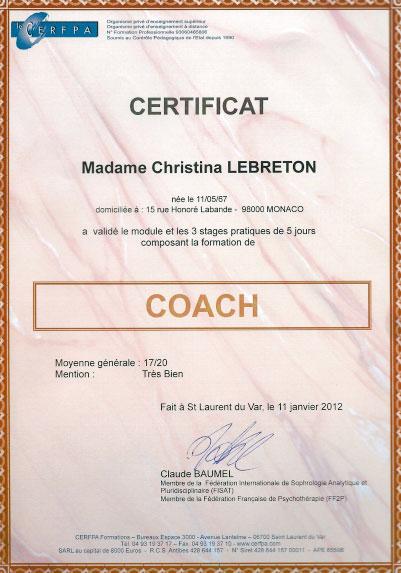 christina coaching